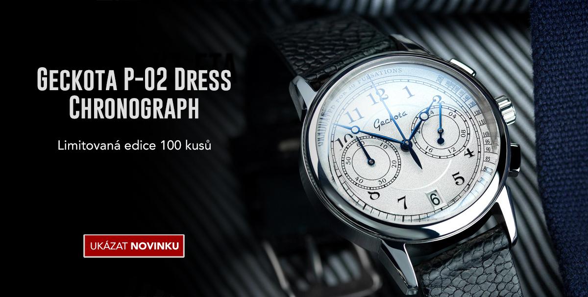 Geckota P-02 Dress Chronograph