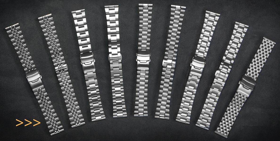 Řemínky ocelové