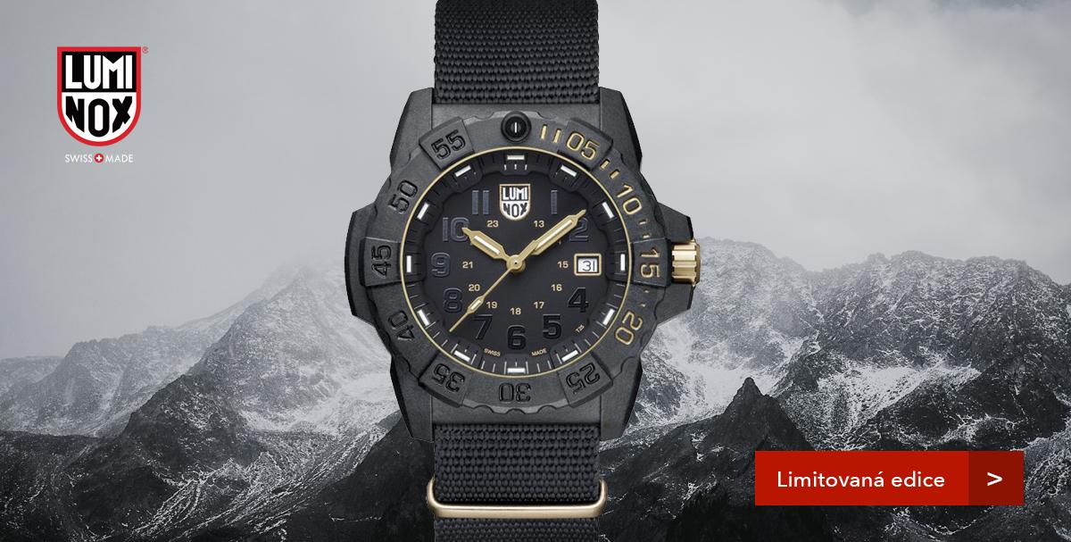 Luminox 3501 GOLD SET Limitovaná edice 1618 kusů