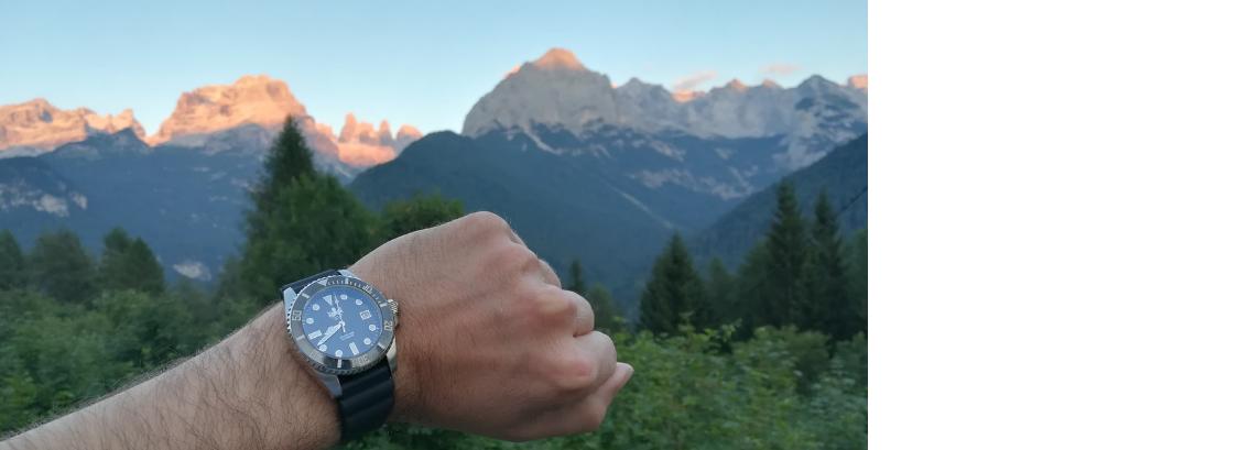 Pohled na asi nejslavnější obraz pohoří Dolomit