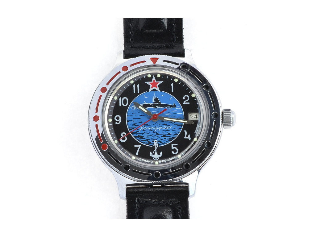 Amfibia Vostok Potápěčske hodinky ruske