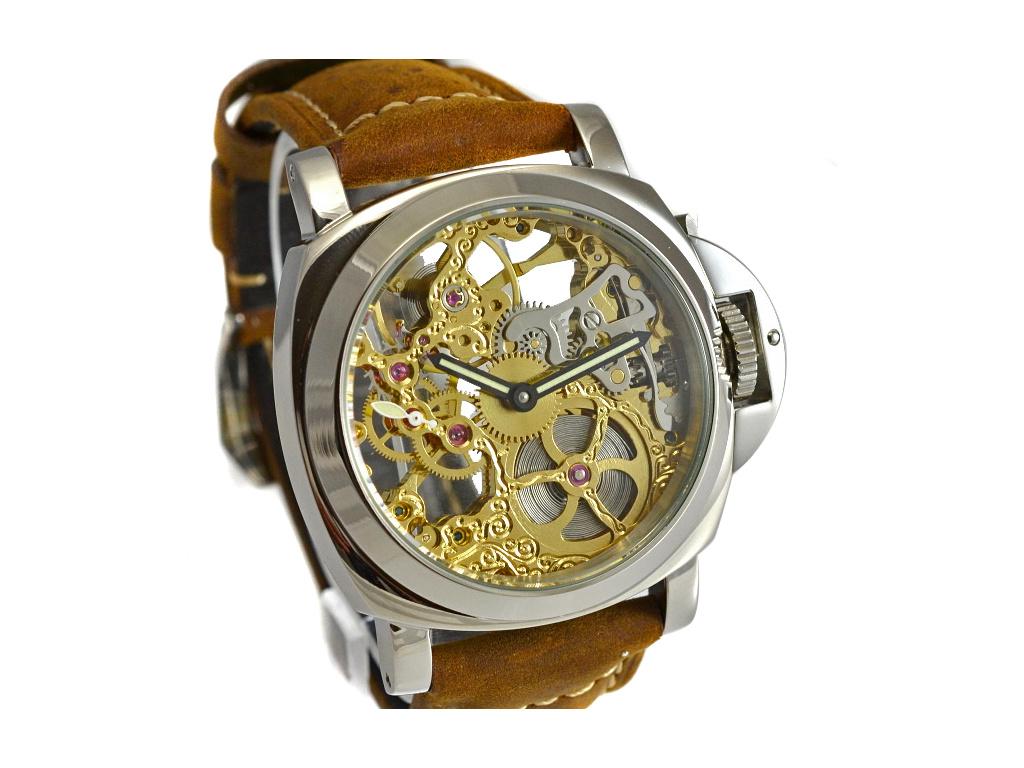 Luxusní skeletové hodinky M0183 - personalizace 10 kusů c74584acfb4