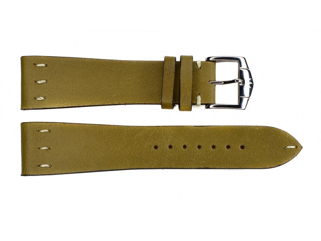 ZRC SAINT LOUIS 730-08 zelený kožený řemínek