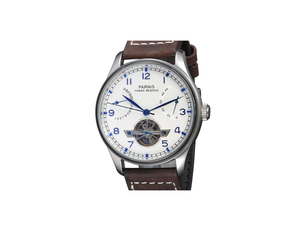 Parnis 3116 White Automatic