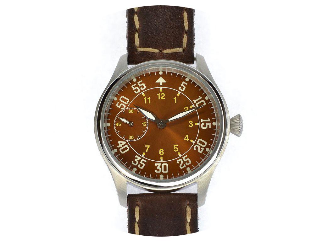 Letecké hodinky Albatros Pilot navigátor Eta Swiss / Limitovaná edice 10 kusů