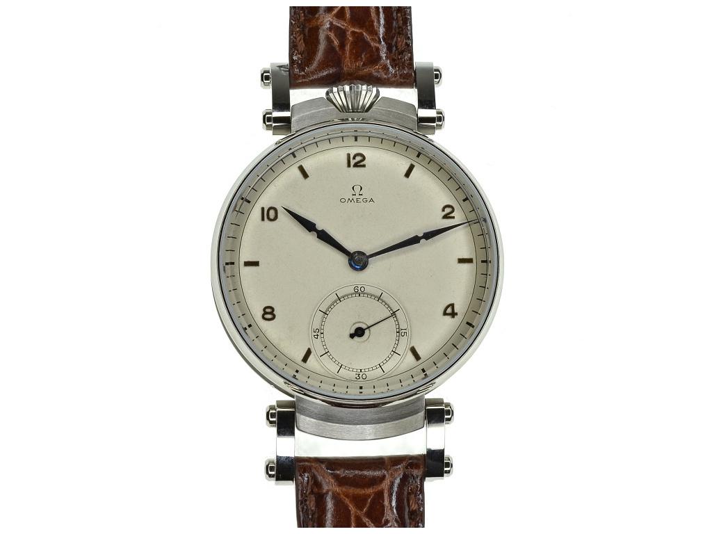 panske velke hodinky omega art deco