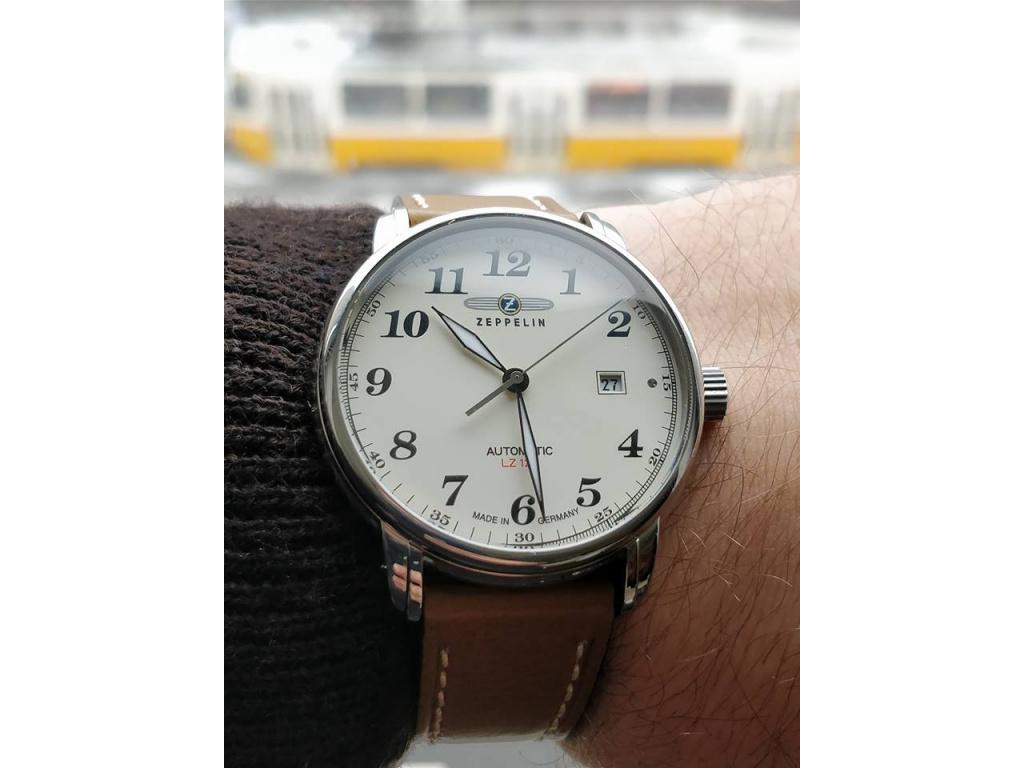 Zeppelin 7656-5 LZ 127 Graf Panske spolecenske hodinky letecky styl