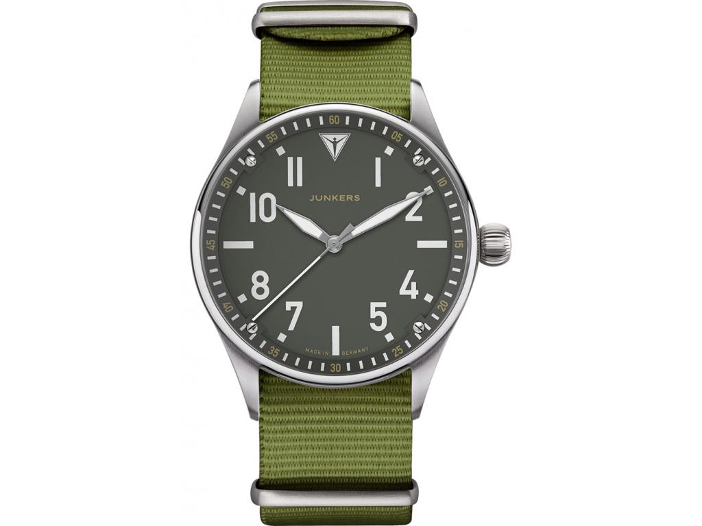 letecké junkers hodinky Flieger 9.02.01.06.N 42mm