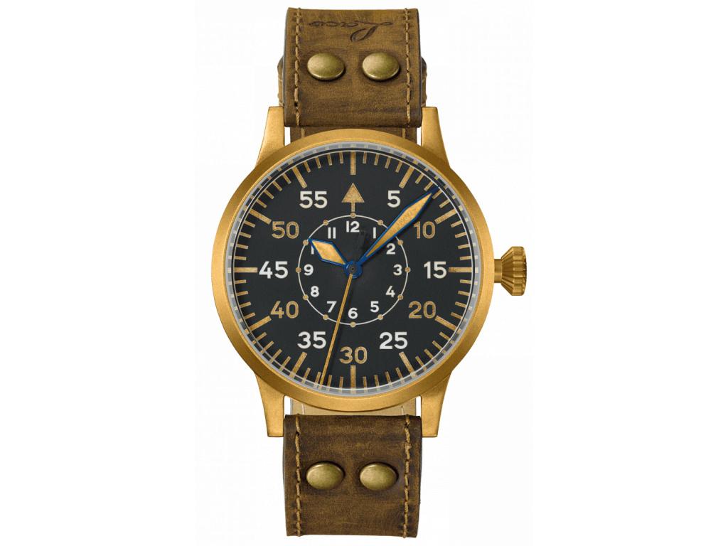 Letecké hodinky Laco Original Friedrichshafen Bronze 45 mm automat