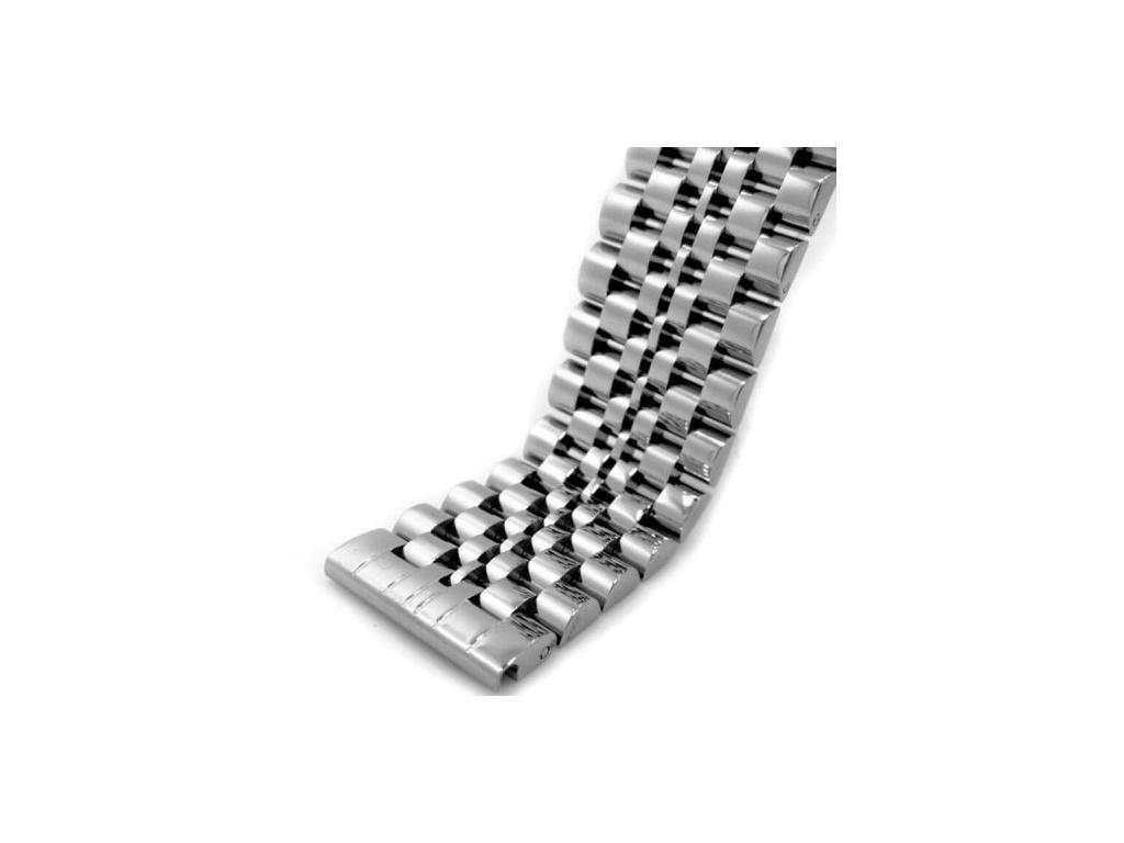 Solid stříbrný masivní ocelový řemínek - nejpanskehodinky.cz 88b69ea9bb