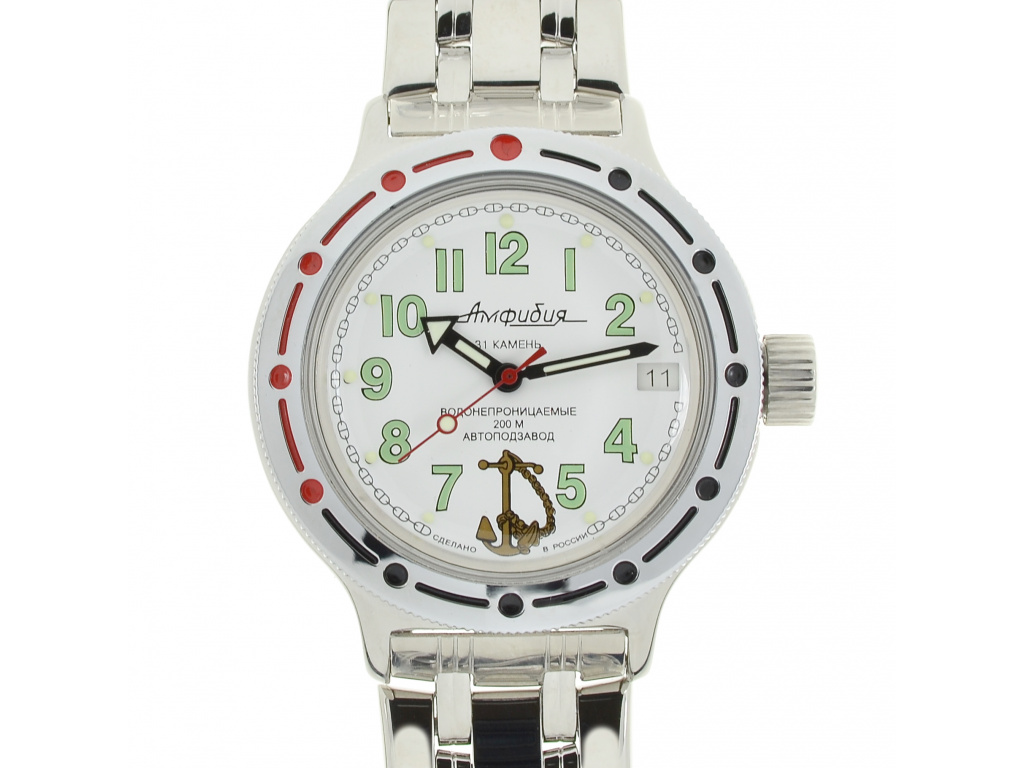 Ruské vojenské hodinky Vostok Amphibia  1fe314e3134