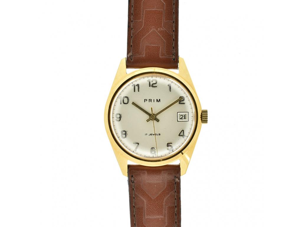Starožitné hodinky Prim Elton z roku 1978