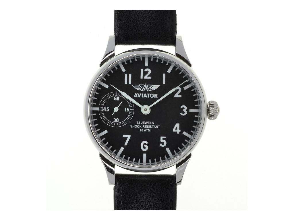 Letecké hodinky Aviator 3602  – 1 měsíc na vrácení + Multifunkční karta do peněženky