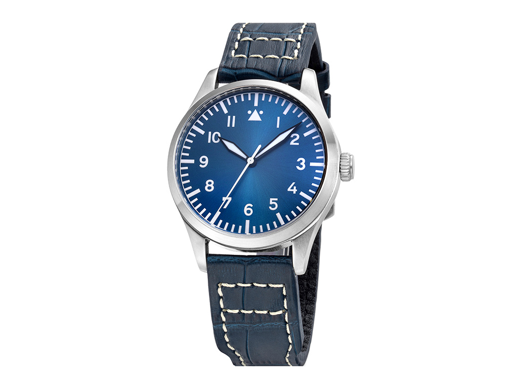 Tisell Pilot Type A Blue 40 mm