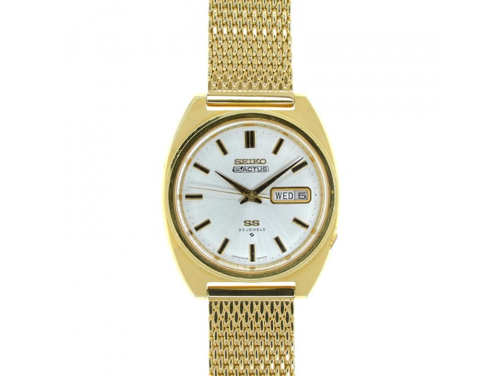 Starožitné hodinky Seiko SS 5 Actus z let 1967-1970