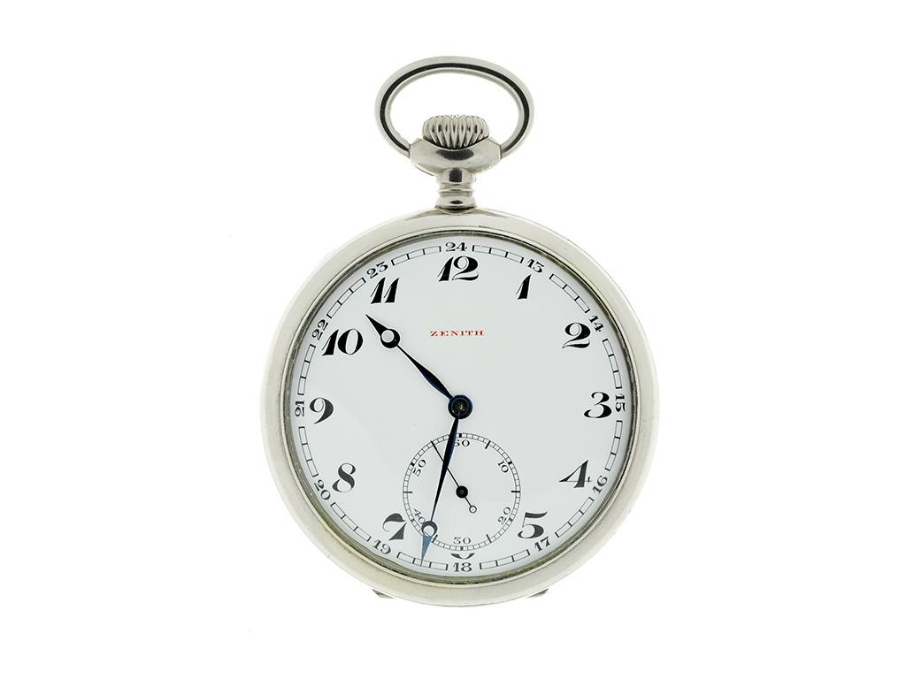 Starožitné kapesní hodinky Zenith 1913-1914  + Dárek k objednávce