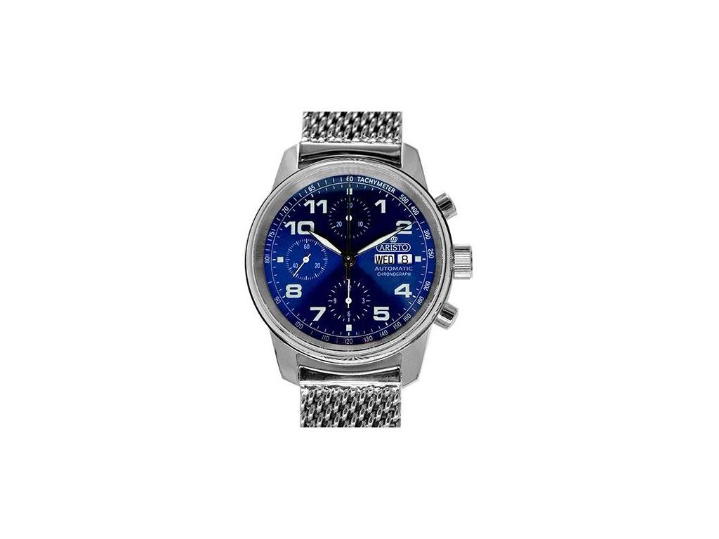 ARISTO Flieger 42 Blue Chronograf 4H174M