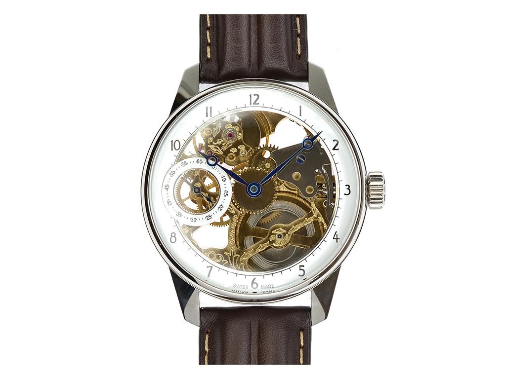 Luxusní skeletové hodinky M0183 - Swiss / Limitovaná edice 1 kus