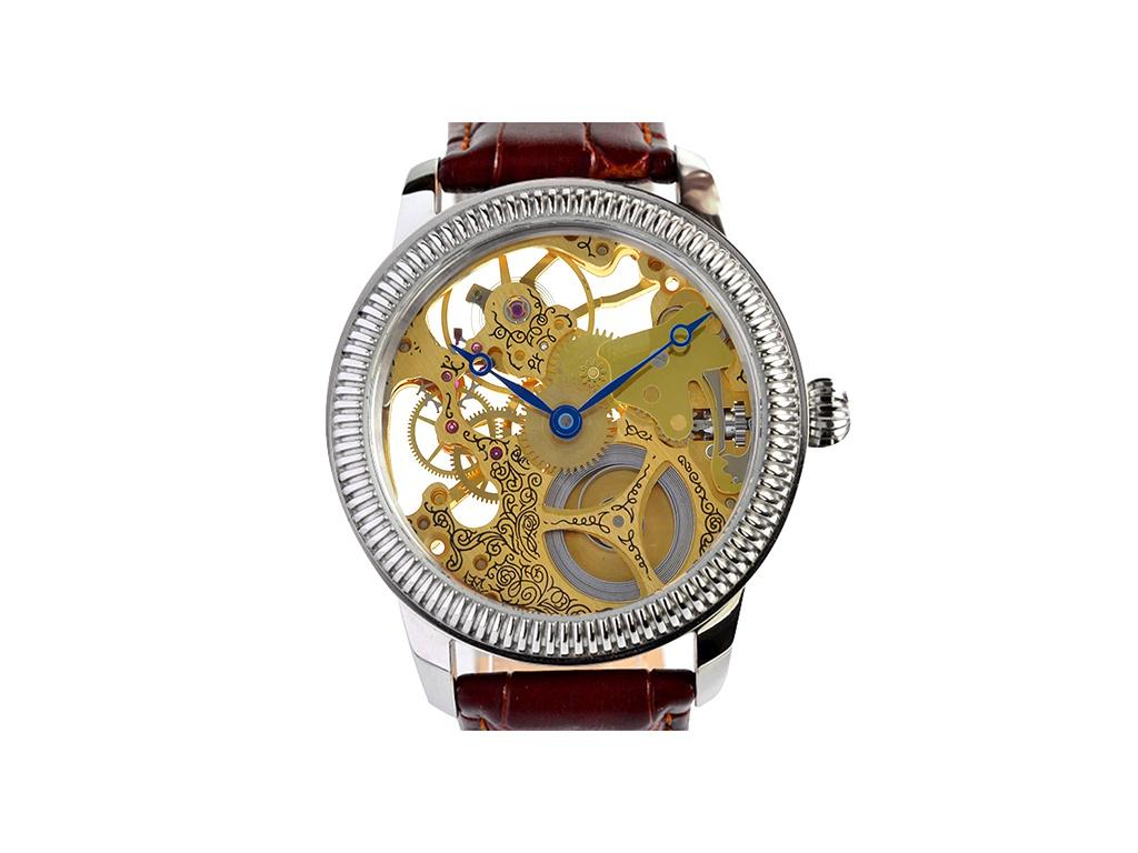 Luxusní skeletové hodinky M0186 - Swiss + + 1 měsíc na vrácení ... 557f091d874