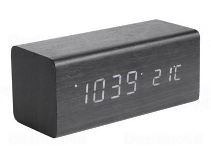 Designový digitální budík a hodiny Karlsson