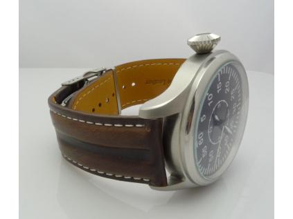 Mavex HYP SP 003 hnědý kožený řemínek pasek na hodinky