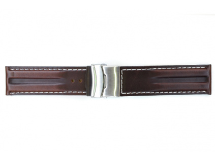 Mavex HYP 03 tmavě hnědý kožený řemínek