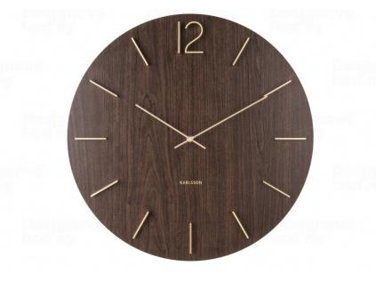 Designové nástěnné hodiny 5697DW Karlsson 50 cm