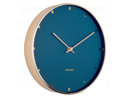 Designové nástěnné hodiny 5776BL Karlsson 27 cm