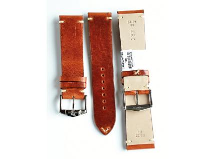 ZRC TULSA 740-04 hnědočervený kožený řemínek  – 1 měsíc na vrácení + Stěžejky příslušné délky