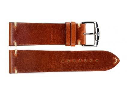 ZRC TULSA 740-04 hnědočervený kožený řemínek