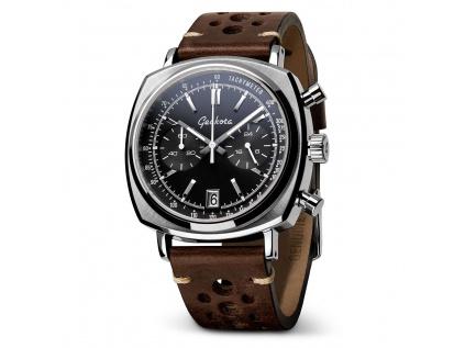 Hodinky Geckota C-01 SII Racing Chronograf Black