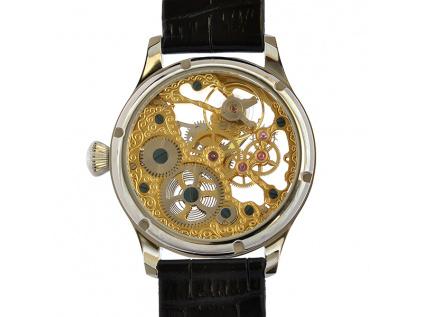Luxusní skeletové hodinky M0182 - personalizace 10 kusů