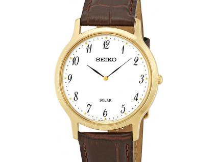 seiko solar white dial men s watch sup860p1