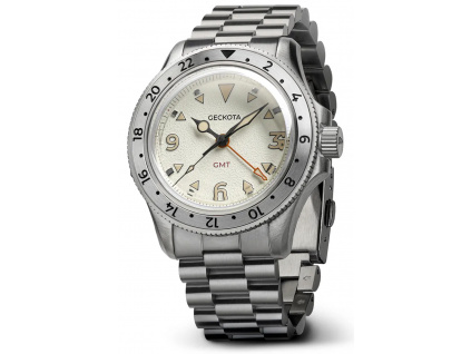 Geckota G-02 Swiss Quartz 40 mm GMT
