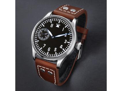 Letecke hodinky Tisell pilotni jednoduchy design