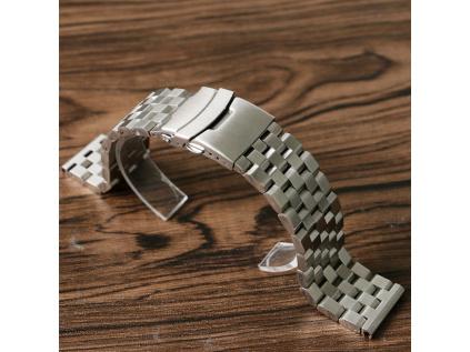 steel steel masivní ocelový pásek