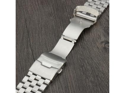 Solid luxusní ocelový řemínek pětilinkový  – Zdarma zkrácení řemínku | 1 měsíc na vrácení + Stěžejky příslušné délky