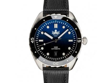 Potápěčské pánské hodinky Eagle Blue Black 1