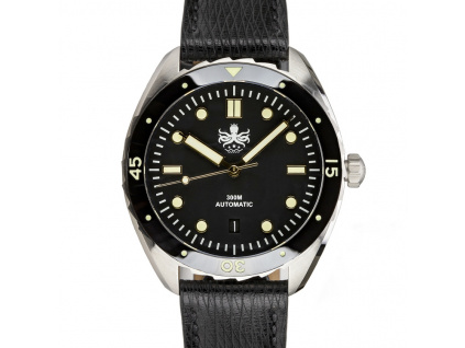 Potápěčské pánské hodinky Eagle Gold Black 1
