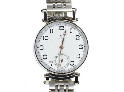 Omegastarožitné pásnké hodinky