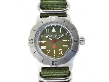 Vostok Komandirskie ruske hodinky. Vostok Komandirskie automatic 35 Green II  + + 1 měsíc na vrácení. Skladem 7ba01ae882