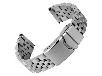 Ocelový řemínek Geckota Shaldon Premium