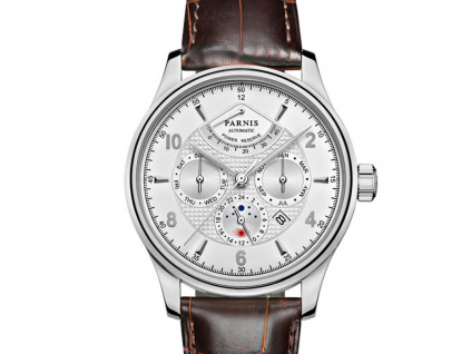 Parnis Classic S42 Complication Date Miyota