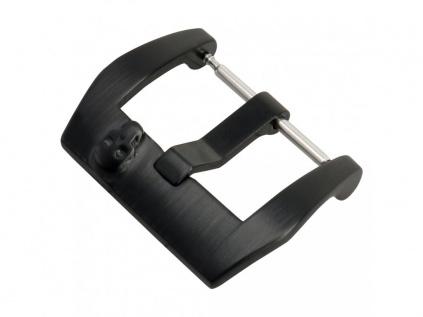 Modrý módní strukturovaný kožený řemínek stylu Panerai