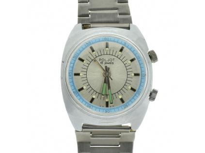 27791 starozitne sovetske vojenske hodinky poljot s budikem 1960 1970
