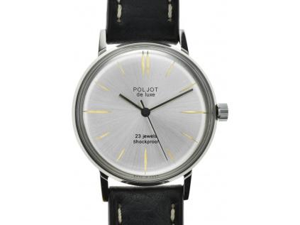 Starozitne hodinky POLJOT DE LUXE repasace 12