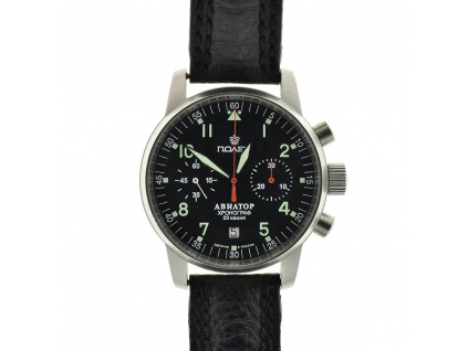 Ruské chronografy Poljot Aviator z roku 2010 - použité zboží