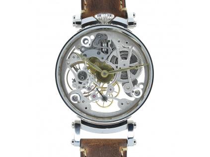 Omega skeletové hodinky 1905-1910 - ruční práce