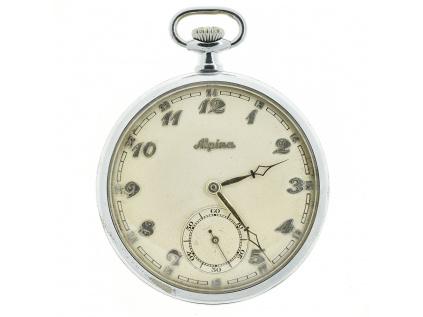 Alpina kapesní vojenské hodinky 1930-1935