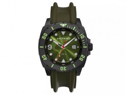 Pánské potápěčské ruské hodinky Molnija Hyron Green 4